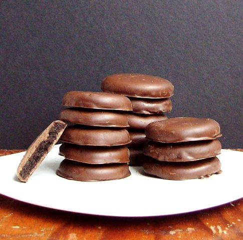 Gluten-Free Three-Ingredient Thin Mint Cookies from Free Range Cookies