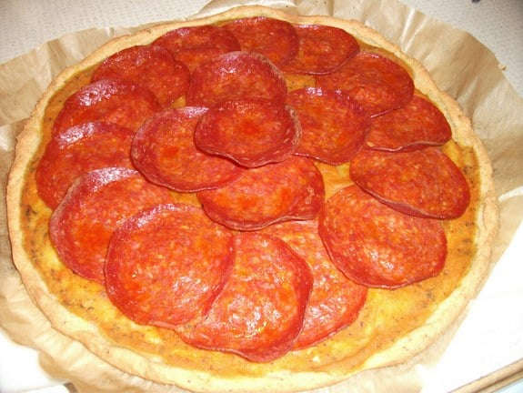 Gluten-Free, Grain-Free, Nut-Free Pizza Crust from The Gluten-Free Dish