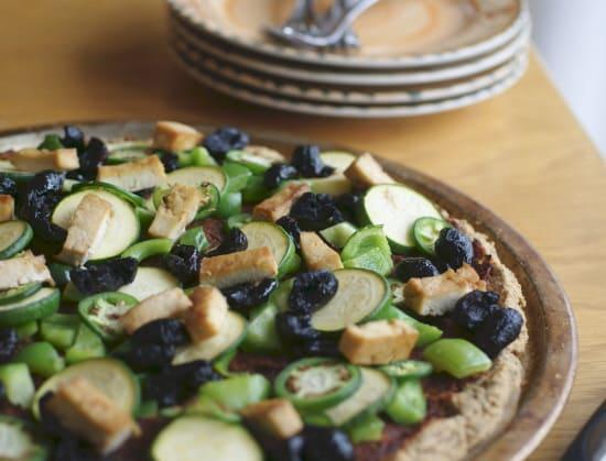 Gluten-Free Grain-Free Pizza Crust from Ricki Heller