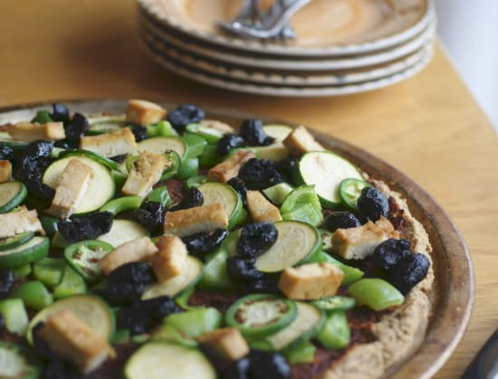 Gluten-Free Grain-Free Pizza Crust from Ricki Heller