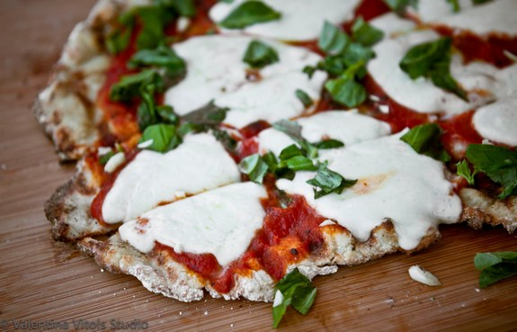Grilled Gluten-Free Pizza from Art of Gluten-Free Baking