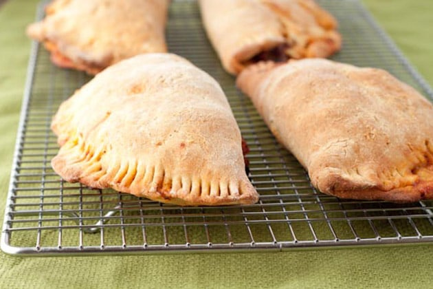 Homemade Pizza Pops (Pockets) from Healthful Pursuit