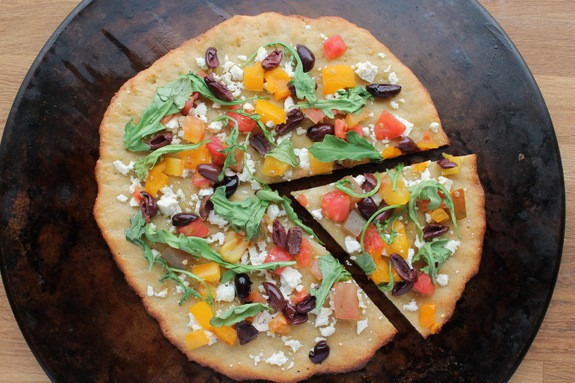 Paleo New York Style Pizza Crust from Zenbelly