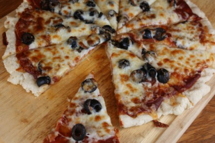 Gluten-Free Pizza from Lynn's Kitchen Adventures