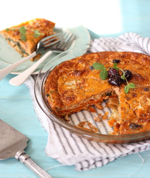 Gluten-Free Pizza Quiche from The Spunky Coconut