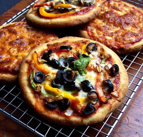 Gluten-Free Vegan Pizza Crust from Free Range Cookies
