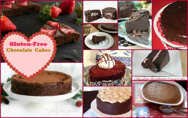 50 Ways to Leave Your Lover ... Satisfied with Gluten-Free Chocolate Cakes. Some of the many gluten-free chocolate desserts that work for Valentine's Day, birthdays, and any other special day. [featured on GlutenFreeEasily.com]