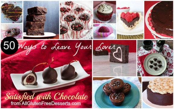 50 Ways to Leave Your Lover ... Satisfied with Chocolate! Hehe. The best possible way, right?!