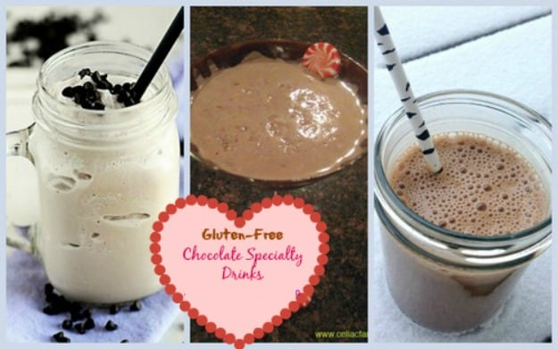 50 Ways To Leave Your Lover ... Satisfied with Gluten-Free Chocolate Desserts. Featured are gluten-free specialty drinks. [on GlutenFreeEasily.com]