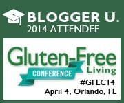 Blogger University Gluten-Free Living Conference