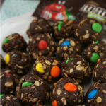 No-Bake Brownie Bites with Candy
