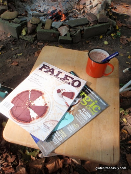Chocolate Pie from Paleo Chocolate Lovers' Cookbook in Paleo Magazine