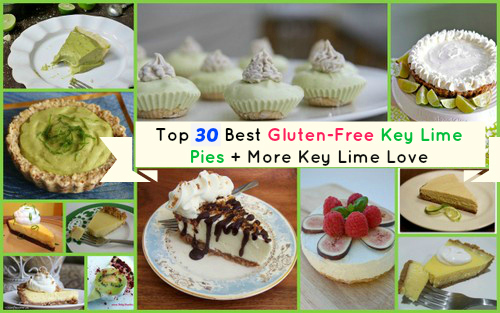 Look at all this gluten-free goodness for Pi Day! Gluten-Free Key Lime Pie Recipes! [from GlutenFreeEasily.com]