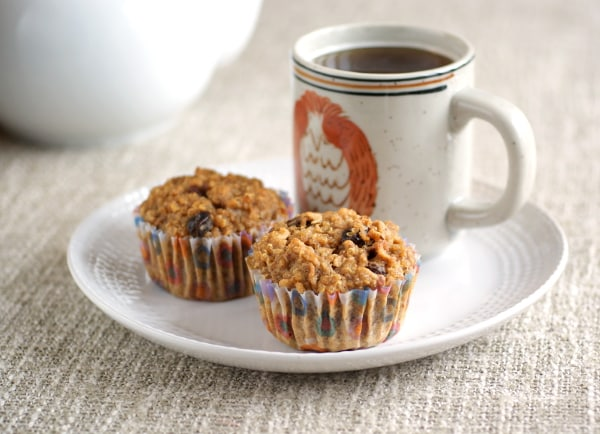 Apple Quinoa Breakfast Muffins from Ricki Heller. One of many fabulous Gluten-Free Mother's Day Brunch Recipes!