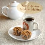 Apple-Quinoa Muffins