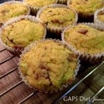 These grain-free Bacon Muffins are a complete meal! One of many fabulous gluten-free brunch recipes! From GAPS Diet Journey. [featured on GlutenFreeEasily.com]