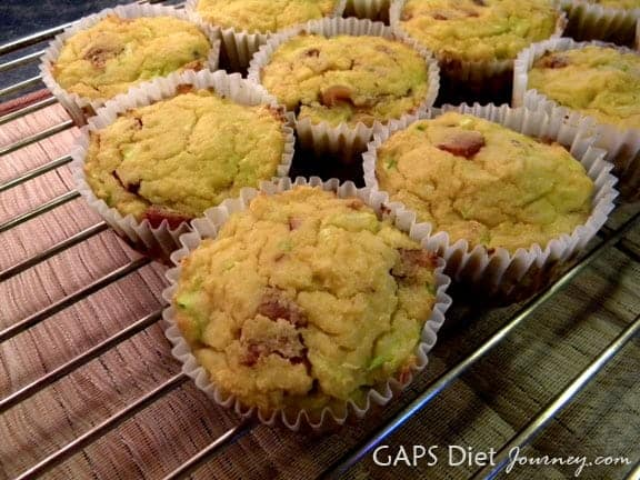 These Bacon Muffins are a complete meal! One of many fabulous Gluten-Free Mother's Day Brunch Recipes! From GAPS Diet Journey.