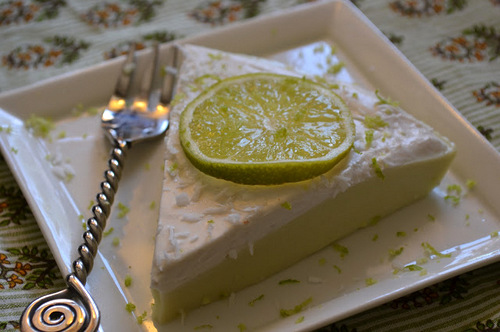 Bottomless Key Lime Pie with Whipped Coconut Lemon Cream from The Tasty Alternative