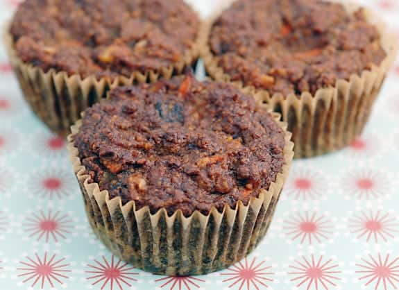 Carrot Banana Muffins from Elana's Pantry