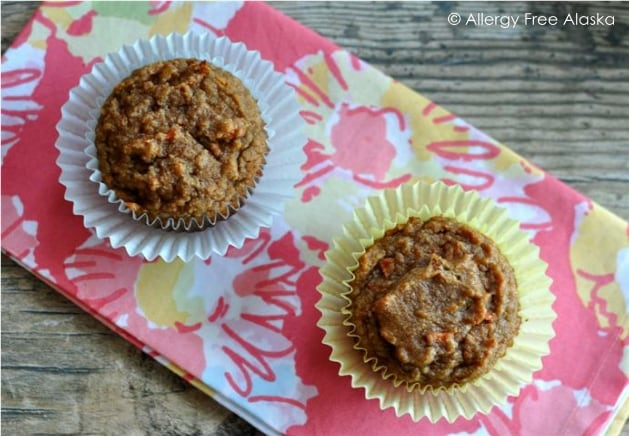 Delicious Paleo Carrot Cake Muffins. These muffins are so very delicious that nobody will even realize that they're healthy!