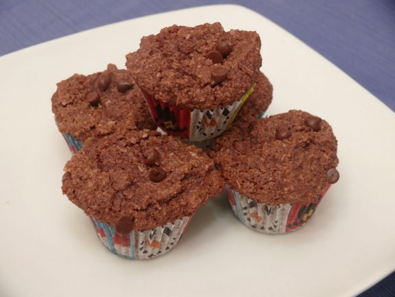 Cocoa-Nut Muffins Stacked Gluten Free Goodness