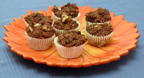 Cocoa-Nut Muffins from Gluten Free Goodness