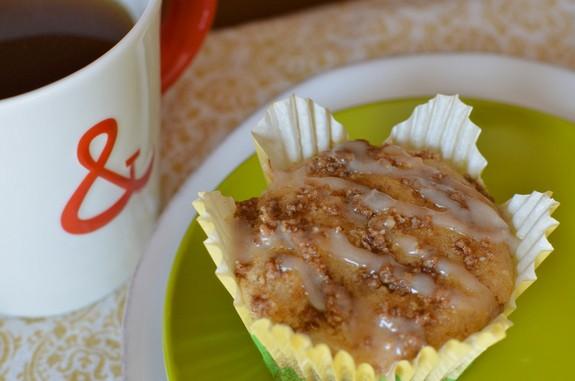 Coffee Cake Muffin Single Muffin Celiac in the City