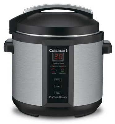 Cuisinart 1000-Watt 6-Quart Electric Pressure Cooker