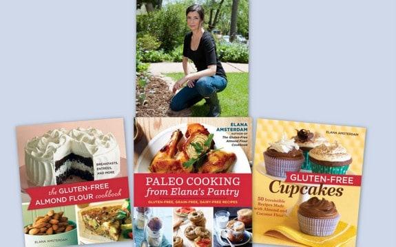 Elana Amsterdam Her Cookbooks Collage