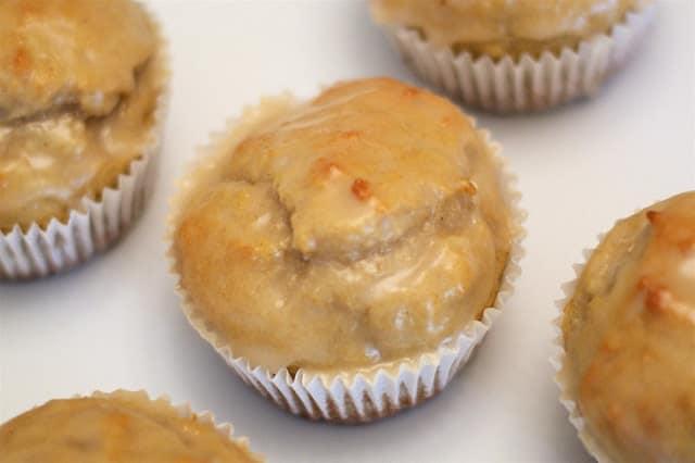Gluten-Free Glazed Donut Muffins. From Sarah Bakes Gluten Free.