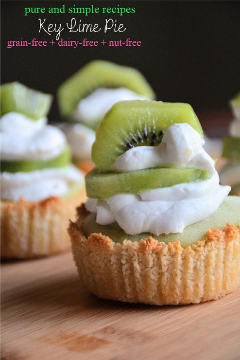 Gluten-Free Key Lime Pie. Dairy free, nut free.