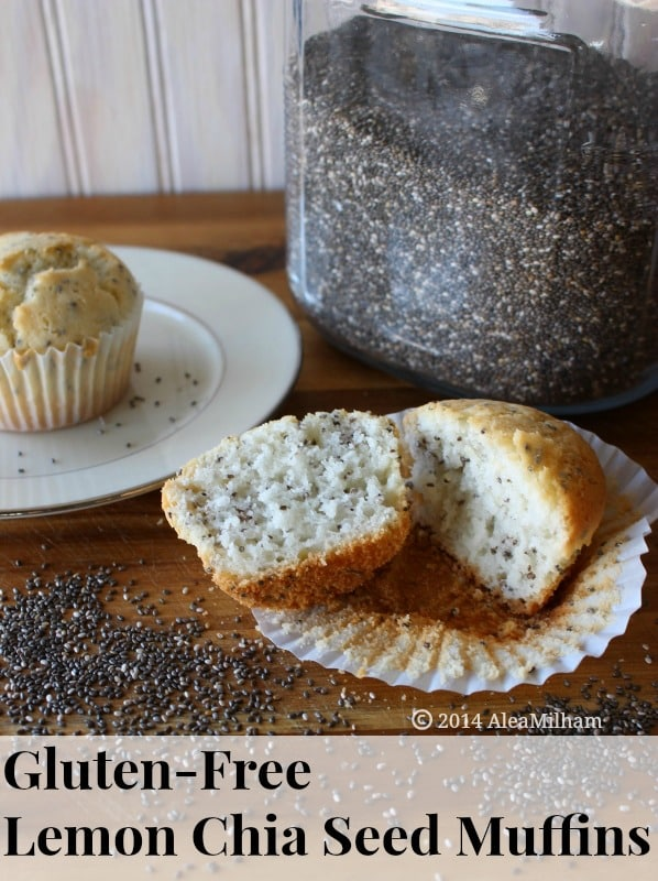 Gluten-Free Lemon Chia Seed Muffins from Alea Milham Premeditated Leftovers