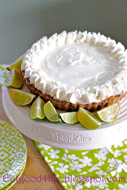 No Bake Key Lime Pie from Eat Good 4 Life