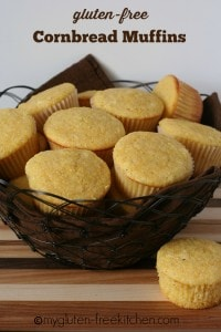 Gluten-Free Classic Cornbread Muffins from My Gluten-Free Kitchen