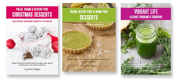 Healthful Pursuit Cookbooks