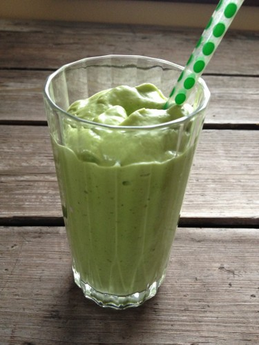Healthy Shamrock Shake In Johnna's Kitchen