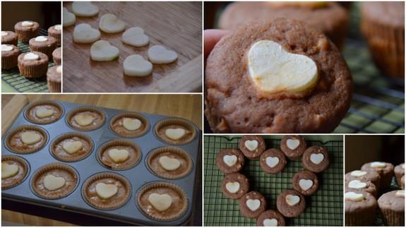 I Love You Cinnamon Apple Muffins Collage The Tasty Alternative