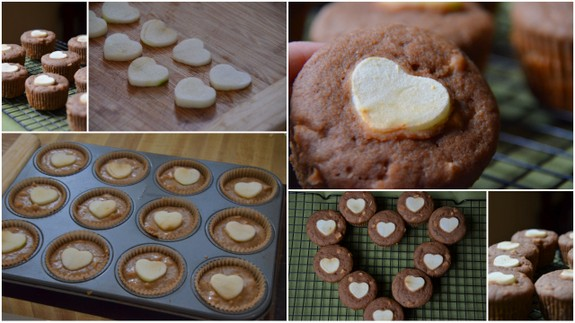 I Love You Cinnamon Apple Muffins Collage The Tasty Alternative
