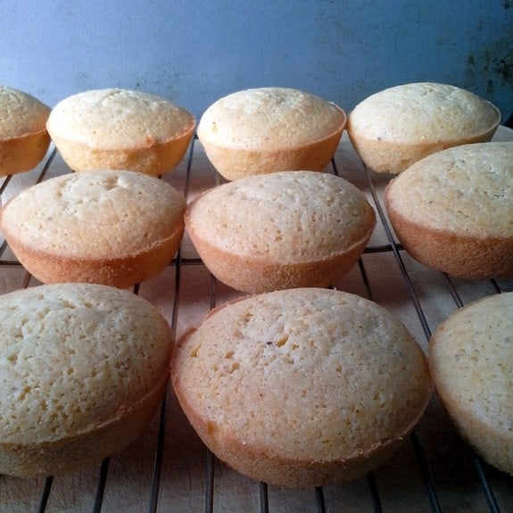 Johnny Cake Muffins from The Mommy Bowl