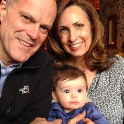 Kathryn Mueller, Her Husband, and Grandbaby