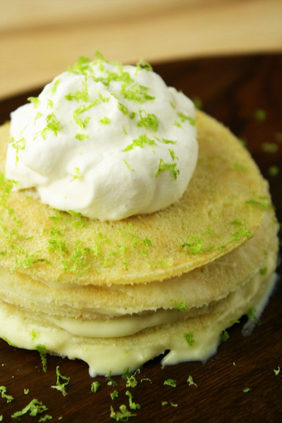 Key Lime Crepes from No Gluten, No Problem