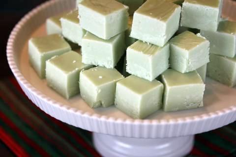 Key Lime Fudge from Lynn's Kitchen Adventures