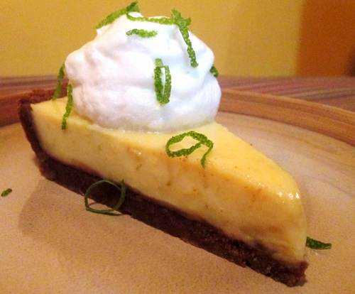 Key Lime Pie from Mountains and Molehills