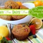 Springtime Lemon-Berry Muffins