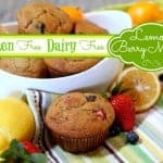 Springtime Lemon-Berry Muffins