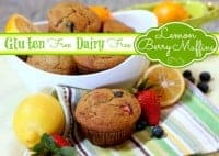 Lemon-Berry Muffins from Cook IT Allergy Free