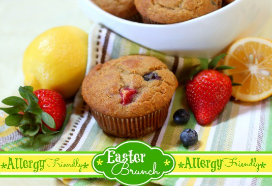 Lemon Berry Muffins Cook IT Allergy Free