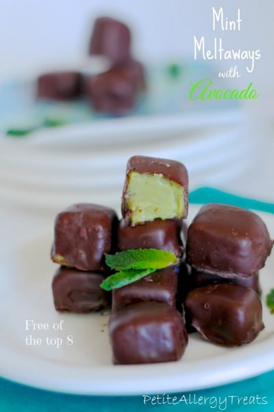 Mint Meltaways from Petite Allergy Treats