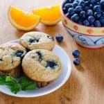 Blueberry muffins get even better when a citrus twist is added to create Paleo Orange Blueberry Muffins. What a lovely combination! (photo)