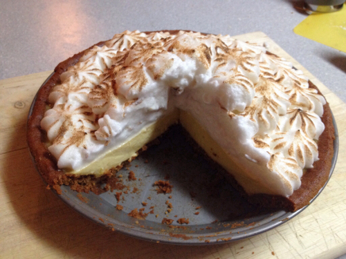 Paleo Key Lime Pie from Cake Cooks Gluten Free